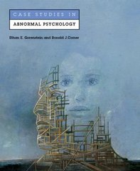 Case Studies in Abnormal Psychology 1st edition 9780716738541 0716738546