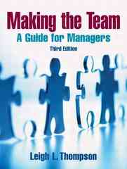 Making the Team 3rd Edition 9780131861350 0131861352