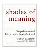 Shades of Meaning 0 9780325006642 0325006644