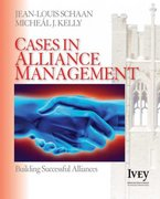 Cases in Alliance Management 0 9781412940290 141294029X
