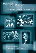 Politics, Parties, and Elections in America 6th edition 9780534601324 0534601324