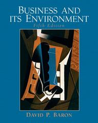 Business and Its Environment 5th edition 9780131873551 0131873555