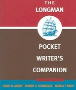 The Longman Pocket Writer's Companion 2nd edition 9780321288264 0321288262