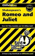 CliffsNotes on Shakespeare's Romeo and Juliet 1st edition 9780764585920 0764585924