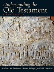 Understanding the Old Testament 5th edition 9780130923806 013092380X