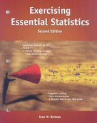 Exercising Essential Statistics, 2nd Edition 2nd edition 9780872893320 0872893324