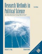 Research Methods in Political Science 6th edition 9780534602352 0534602355