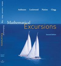 Mathematical Excursions 2nd edition 9780618608539 0618608532