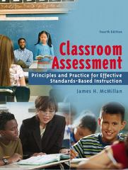 Classroom Assessment 4th edition 9780205485840 0205485847