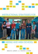 Instructional Strategies for Middle and High School 0 9780415953092 041595309X