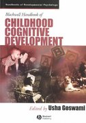 Blackwell Handbook of Childhood Cognitive Development 1st edition 9780631218418 0631218416