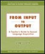 From Input to Output 1st edition 9780072825619 0072825618