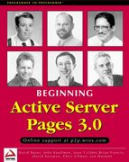 Active Server Pages 3.0 3rd edition 9781861003386 1861003382