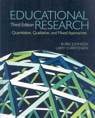 Educational Research 3rd edition 9781412954563 1412954568