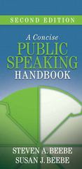 A Concise Public Speaking Handbook 2nd edition 9780205502448 020550244X