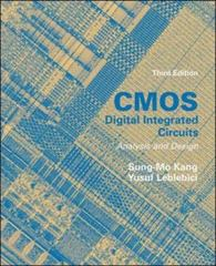 CMOS Digital Integrated Circuits Analysis & Design 3rd edition 9780072460537 0072460539