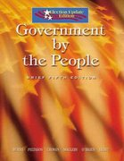 Government by the People, Election Update 5th edition 9780131939066 0131939068