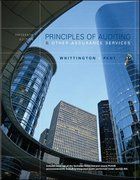 Principles of Auditing and Other Assurance Services 15th edition 9780073010847 0073010847