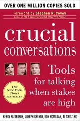 Crucial Conversations: Tools for Talking When Stakes Are High, Second Edition 2nd edition 9780071775304 0071775307