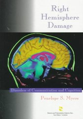 Right Hemisphere Damage 1st Edition 9781565932241 1565932242