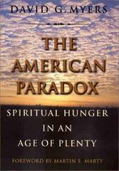 The American Paradox 0 9780300081114 0300081111