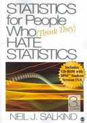 Statistics for People Who (Think They) Hate Statistics 3rd edition 9781412951517 1412951518