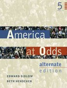 America at Odds: Alternate Edition 5th edition 9780534601331 0534601332