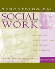 Gerontological Social Work 2nd edition 9780534578077 0534578071