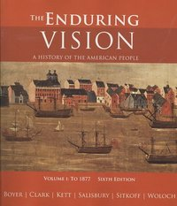 The Enduring Vision 6th edition 9780618801619 0618801618