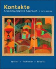 Kontakte: A Communicative Approach (Student Edition) 5th edition 9780072560770 0072560770