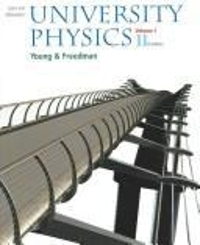 University Physics 11th edition 9780805391800 0805391800