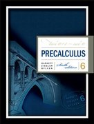 Precalculus 6th edition 9780072867398 0072867396