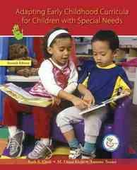 Adapting Early Childhood Curricula for Children with Special Needs 7th Edition 9780131723818 0131723812