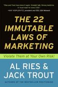 The 22 Immutable Laws of Marketing 1st Edition 9780061798177 0061798177