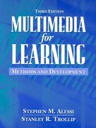 Multimedia for Learning 3rd Edition 9780205276912 0205276911