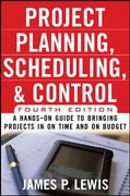 Project Planning, Scheduling, and Control 4th edition 9780071460378 0071460373