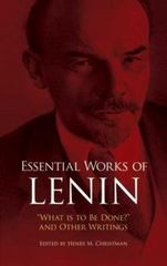 Essential Works of Lenin 1st Edition 9780486253336 0486253333
