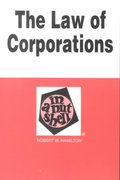 The Law of Corporations in a Nutshell 5th edition 9780314241320 0314241329
