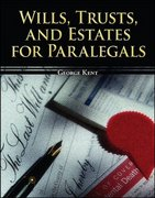Wills, Trusts, and Estates for Paralegals 1st Edition 9780073403069 0073403067