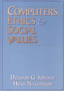 Computers, Ethics and Social Values 1st edition 9780131031104 0131031104