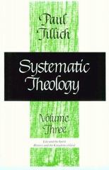 Systematic Theology, Volume 3 0 9780226803395 0226803392