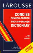 Larousse Concise Spanish/English, English/Spanish Dictionary 1st Edition 9782034204029 2034204026