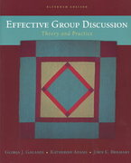 Effective Group Discussion 11th edition 9780072843477 0072843470
