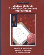 Modern Methods For Quality Control and Improvement 2nd edition 9780471299738 0471299731