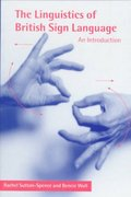 The Linguistics of British Sign Language 0 9780521637183 052163718X