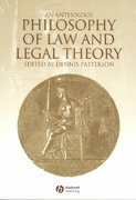 Philosophy of Law and Legal Theory 1st Edition 9780631202882 0631202889