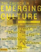 Church Emerging Culture 1st Edition 9780310254874 0310254876