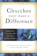 Churches That Make a Difference 0 9780801091339 0801091330