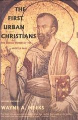 The First Urban Christians 2nd Edition 9780300098617 0300098618