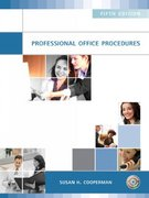 Professional Office Procedures 5th edition 9780135156643 0135156645